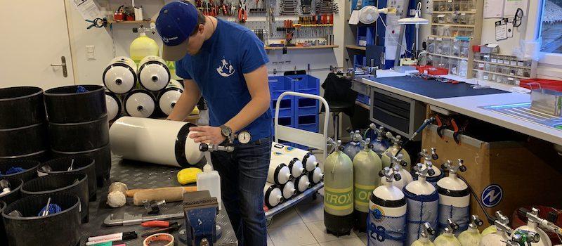 Scuba-Shop Villeneuve Atelier Blocs
